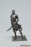 Персидский ассасин - Оловянный солдатик. Чернение. Высота солдатика 54 мм