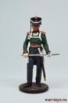 Обер-офицер армейской пешей артиллерии. Россия, 1809-14 гг.