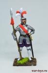 Капитан ландскнехтов, 1544 год - Оловянный солдатик коллекционная роспись 54 мм. Все оловянные солдатики расписываются художником в ручную
