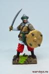 Мусульманский воин, 13 век - Оловянный солдатик коллекционная роспись 54 мм. Все оловянные солдатики расписываются художником в ручную