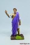 Юлий Цезарь, 52 г. до н.э. - Оловянный солдатик коллекционная роспись 54 мм. Все оловянные солдатики расписываются художником в ручную