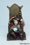 Ярл викингов, 9-10 вв - Оловянный солдатик коллекционная роспись 54 мм. Все оловянные солдатики расписываются художником в ручную