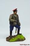 Первая мировая война. Поручик - Оловянный солдатик коллекционная роспись 54 мм. Все оловянные солдатики расписываются художником в ручную
