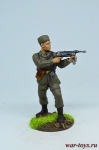 Немец-десантник, 1941 - Оловянный солдатик коллекционная роспись 54 мм. Все оловянные солдатики расписываются художником в ручную