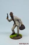Грабитель поезда - Оловянный солдатик коллекционная роспись 54 мм. Все оловянные солдатики расписываются художником в ручную