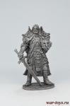 Рыцарь света - Не крашенный оловянный солдатик. Высота 54 мм.