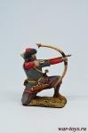 Викинг - лучник, IX-X вв - Оловянный солдатик коллекционная роспись 54 мм. Все оловянные солдатики расписываются художником в ручную