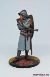 Последний Тамплиер, 1307 - Оловянный солдатик коллекционная роспись 54 мм. Все оловянные солдатики расписываются художником в ручную