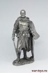 Рыцарь ордена меченосцев, 13 век 75 мм - Не крашенный оловянный солдатик. Высота 75 мм.