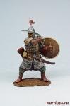 Золотоордынский воин, 14 век - Оловянный солдатик коллекционная роспись 54 мм. Все оловянные солдатики расписываются художником в ручную