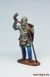 Шведский рыцарь, 13 век. - Оловянный солдатик коллекционная роспись 54 мм. Все оловянные солдатики расписываются художником в ручную