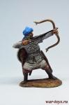 Мусульманский воин-лучник, 12-13 вв. - Оловянный солдатик коллекционная роспись 54 мм. Все оловянные солдатики расписываются художником в ручную