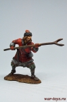 Воин-доброволец, 13 век - Оловянный солдатик коллекционная роспись 54 мм. Все оловянные солдатики расписываются художником в ручную
