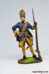 Шведский гренадер полка Меллина, 1700-05 гг. - Оловянный солдатик коллекционная роспись 54 мм. Все оловянные солдатики расписываются художником в ручную