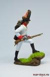 Австрийский гренадер - Оловянный солдатик коллекционная роспись 54 мм. Все оловянные солдатики расписываются художником в ручную