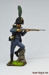Австрийский егерь 1805 - Оловянный солдатик коллекционная роспись 54 мм. Все оловянные солдатики расписываются художником в ручную