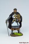 Герман Фон Зальца - Оловянный солдатик коллекционная роспись 54 мм. Все оловянные солдатики расписываются художником в ручную
