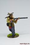 Индеец с ружьем - Оловянный солдатик коллекционная роспись 54 мм. Все оловянные солдатики расписываются художником в ручную