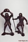 Пещерные люди, набор №3 из 2 фигур (150 мм), пластик