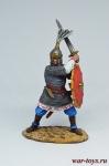 Древнерусский воин, 9-10 вв - Оловянный солдатик коллекционная роспись 54 мм. Все оловянные солдатики расписываются художником вручную