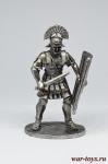 Римский Центурион - Не крашенный оловянный солдатик. Высота 54 мм.