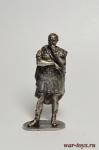 Гай Юлий Цезарь 1 в до н.э. - Не крашенный оловянный солдатик. Высота 54 мм.
