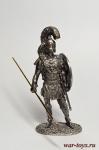 Древняя Греция - Не крашенный оловянный солдатик. Высота 54 мм.