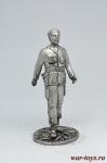 Че Гевара - Не крашенный оловянный солдатик. Высота 54 мм.