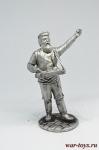 Коробейник - Не крашенный оловянный солдатик. Высота 54 мм.