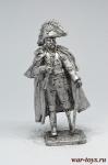 Генерал Пьер Домениль, 1814 г. - Не крашенный оловянный солдатик. Высота 54 мм.