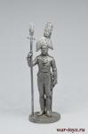 Обер-офицер Орловского мушкетерского полка. Россия, 1804-06