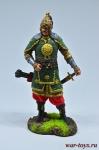 Татарский знатный воин, 14 век 75 мм
