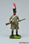 Рядовой прусского добровольческого корпуса Марвица 1806