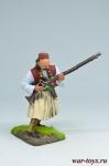 Албанский стрелок, XVIII век - Оловянный солдатик коллекционная роспись 54 мм. Все оловянные солдатики расписываются художником вручную