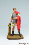 Гней Помпей Магнус. Консул Римской Республики - Оловянный солдатик коллекционная роспись 54 мм. Все оловянные солдатики расписываются художником вручную