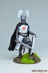 Тевтонский рыцарь - Оловянный солдатик коллекционная роспись 54 мм. Все оловянные солдатики расписываются художником вручную