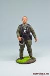 Немецкий летчик, 1944 - Оловянный солдатик коллекционная роспись 54 мм. Все оловянные солдатики расписываются художником вручную