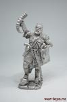 Черкес, середина 19 века - Не крашенный оловянный солдатик. Высота 54 мм.
