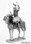 Литаврщик кавалергардского полка 1914 год - Не крашенный оловянный солдатик. Высота 54 мм.