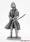 Маршал Ней - Не крашенный оловянный солдатик. Высота 54 мм.