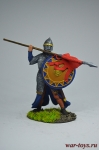 Рыцарь-крестоносец, 12 вв. - Оловянный солдатик коллекционная роспись 54 мм. Все оловянные солдатики расписываются художником вручную