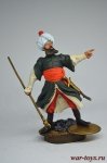 Али-паша Тепеленский - Оловянный солдатик коллекционная роспись 54 мм. Все оловянные солдатики расписываются художником вручную