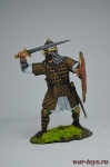 Новгородский знатный воин, 13 век - Оловянный солдатик коллекционная роспись 54 мм. Все оловянные солдатики расписываются художником вручную