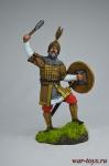 Воин-сарацин, 12 век. - Оловянный солдатик коллекционная роспись 54 мм. Все оловянные солдатики расписываются художником вручную