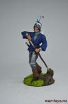 Средневековый рыцарь - Оловянный солдатик коллекционная роспись 54 мм. Все оловянные солдатики расписываются художником вручную