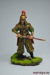 Монгольский военачальник, 1343 г. - Оловянный солдатик коллекционная роспись 54 мм. Все оловянные солдатики расписываются художником вручную