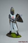 Крестоносец - Оловянный солдатик коллекционная роспись 54 мм. Все оловянные солдатики расписываются художником вручную
