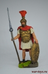 Центурион 7 преторианской когорты, гвардия Антония Пия, 150 год - Оловянный солдатик коллекционная роспись 54 мм. Все оловянные солдатики расписываются художником вручную