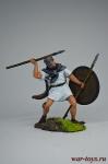 Римский велит, 3-2 вв до н. э. - Оловянный солдатик коллекционная роспись 54 мм. Все оловянные солдатики расписываются художником вручную