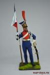 Кавалерия легкой гвардии. Польша - Оловянный солдатик коллекционная роспись 54 мм. Все оловянные солдатики расписываются художником вручную